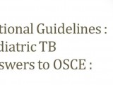 THM OSCE Aug 2012 Vaccine TB Answers