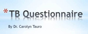 TB Questionnaire.......