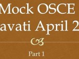 Nanavati OSCE April 2014