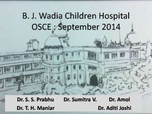 Click here for OSCEs of Wadia Hospital PG CME Sept 2014