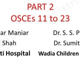 Click here for PART 2 of Wadia PG CME -March 2016