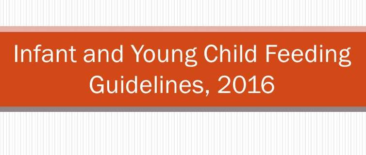 Click here for New IYCF Guidelines published in Indian Pediatrics August 2016