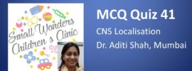 Click here for MCQs on CNS localisation